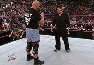 RAW 4-28-03 Steve Austin and Bischoff