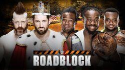 Roadblock 2016 WWE Tag Title Match