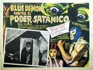 Blue Demon Contra el Poder Satánico 1