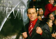 Shawn Michaels Attends the Premier of See No Evil