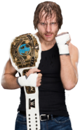 Dean ambrose intercontinental champion by nibble t-d9kddc9