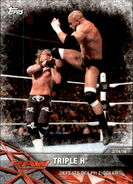 2017 WWE Road to WrestleMania Trading Cards (Topps) Triple H 42