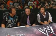 Jerry Lawler, Michael Cole & Matt Striker