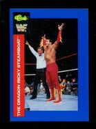 1991 WWF Classic Superstars Cards Ricky Steamboat 129