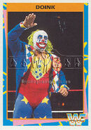 1995 WWF Wrestling Trading Cards (Merlin) Doink 80