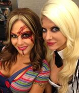 Velvet Sky & Angelina Love at Chillerama