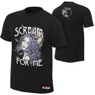 Paige Scream For Me Authentic T-Shirt