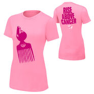 Prime Time Players Rise Above Cancer Pink Women's Authentic T-Shirt