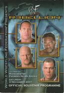Rebellion 2001 Programme