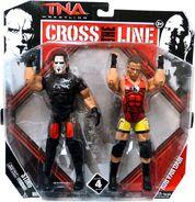 TNA Cross the Line 4 Sting & Rob Van Dam