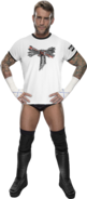 CM Punk arrow tshirt