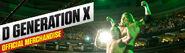 D-Generation X Merch poster
