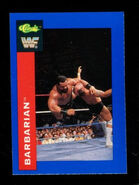 1991 WWF Classic Superstars Cards Barbarian 27