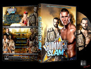 WWE SummerSlam 2011 DVD Cover