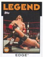 2016 WWE Heritage Wrestling Cards (Topps) Edge 81