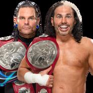 The Hardy Boyz WWE Raw Tag Team Championship 2017