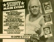 Saturday Night's Main Event IV Ad