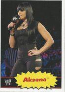 2012 WWE Heritage Trading Cards Aksana 2