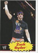 2012 WWE Heritage Trading Cards Zack Ryder 43