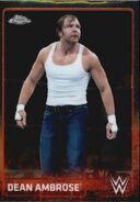 2015 Chrome WWE Wrestling Cards (Topps) Dean Ambrose 22