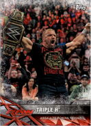 2017 WWE Road to WrestleMania Trading Cards (Topps) Triple H 33