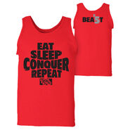 Brock Lesnar Eat, Sleep, Conquer, Repeat. Tank Top