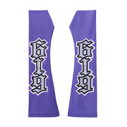 REY Mysterio PURPLE SILVER ARM SLEEVES