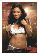 2009 WWE (Topps) Gail Kim 52