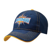 WrestleMania 33 Blue Baseball Hat