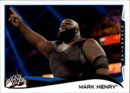2014 WWE (Topps) Mark Henry 81