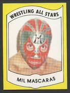 1982 Wrestling All Stars Series A and B Trading Cards Mil Mascaras (No.3)