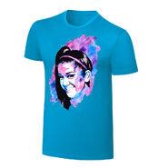 Bayley Rob Schamberger Blue Art Print T-Shirt