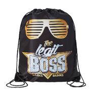 Sasha Banks The Legit Boss Drawstring Bag