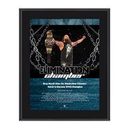 Bray Wyatt Elimination Chamber 2017 10 x 13 Commemorative Photo Plaque