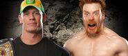 John Cena vs Sheamus