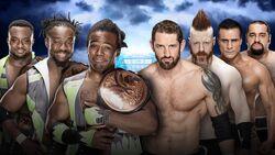 WM 32 Tag Team Title Match