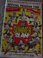 Summerslam 2009 Program
