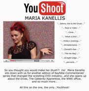 YouShoot with Maria Kanellis