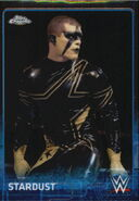 2015 Chrome WWE Wrestling Cards (Topps) Stardust 66