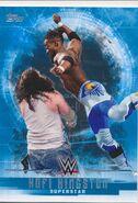 2017 WWE Undisputed Wrestling Cards (Topps) Kofi Kingston 21