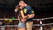 AJ Lee & John Cena