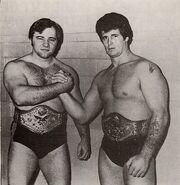 Tony Garea and Larry Zbyszko