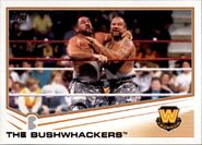 2013 WWE (Topps) The Bushwhackers 88