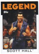 2016 WWE Heritage Wrestling Cards (Topps) Scott Hall 102