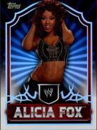 2011 Topps WWE Classic Wrestling Alicia Fox 4