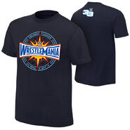 WrestleMania 33 Logo T-Shirt