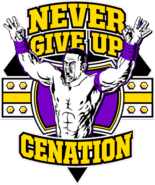 Never Give UP CENATION new