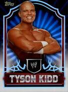 2011 Topps WWE Classic Wrestling Tyson Kidd 71