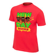 New Day New Day Rocks Red Youth Special Edition T-Shirt