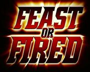 TNA Feast or Fired Logo